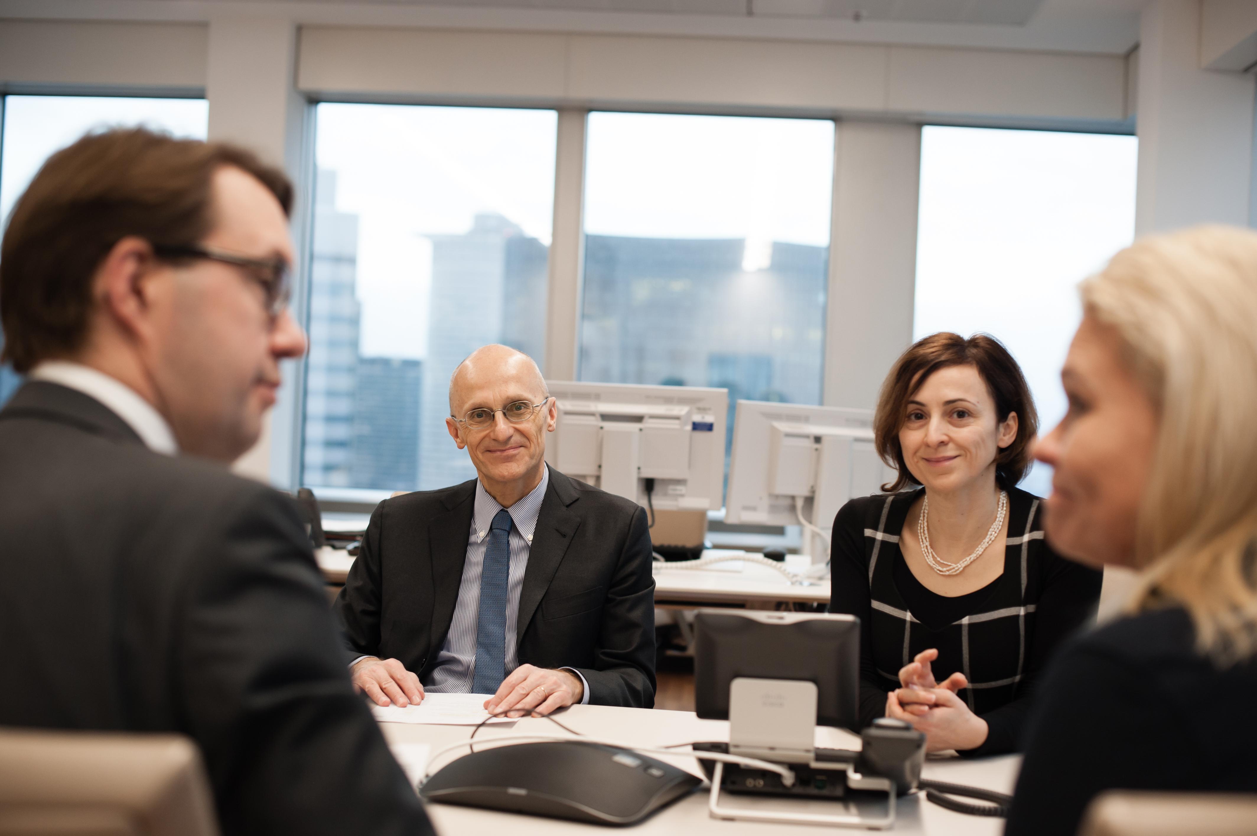 Andrea Enria asume el mando de la supervisión bancaria del BCE